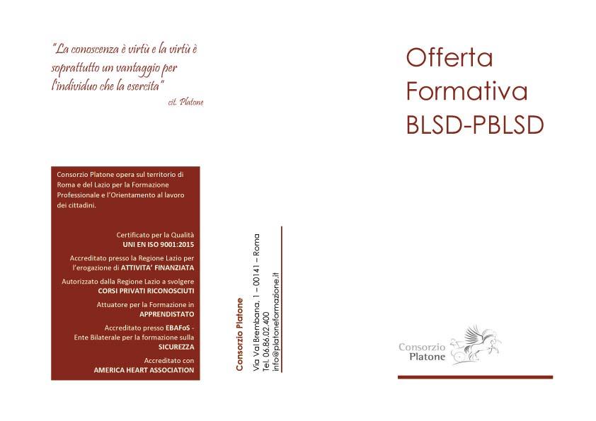 Offerta Formativa BLSD-PBLSD
