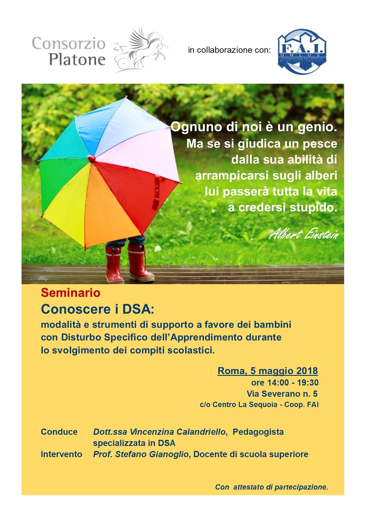 Seminario Conoscere i DSA